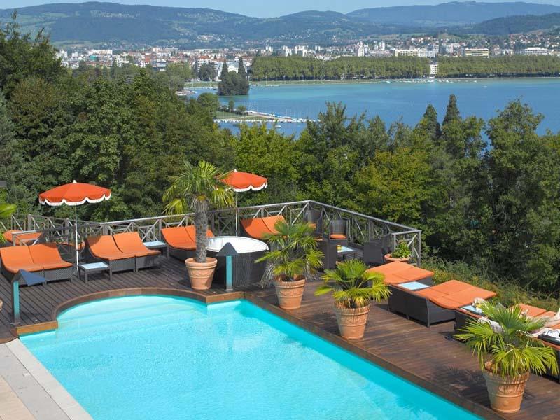 Les Trésoms Lake and Spa Resort