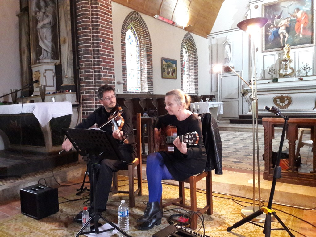 Duo jazz Franck et Juliette